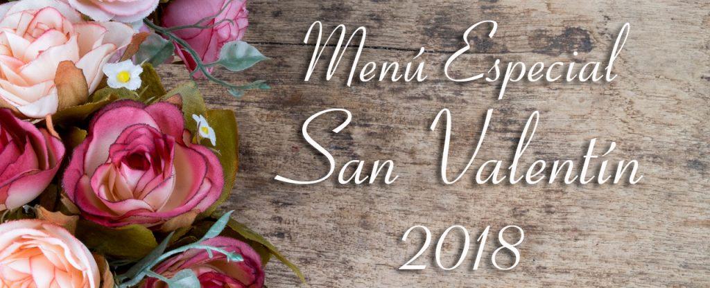 Menú especial para celebrar San Valentín 2018